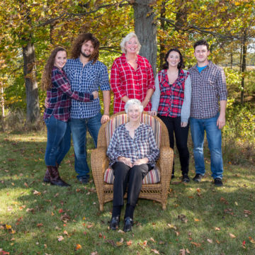 MP Marilyn Gladue Family Portrait Session
