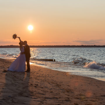 Beach Wedding at the Sarnia Riding Club in Sarnia, ON