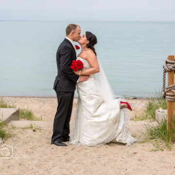 JoeGophoto Cantara Beach wedding photography in Sarnia, ON